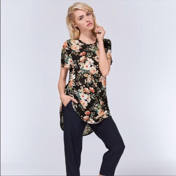 Aritzia Wilfred Capucine Floral Print T-Shirt